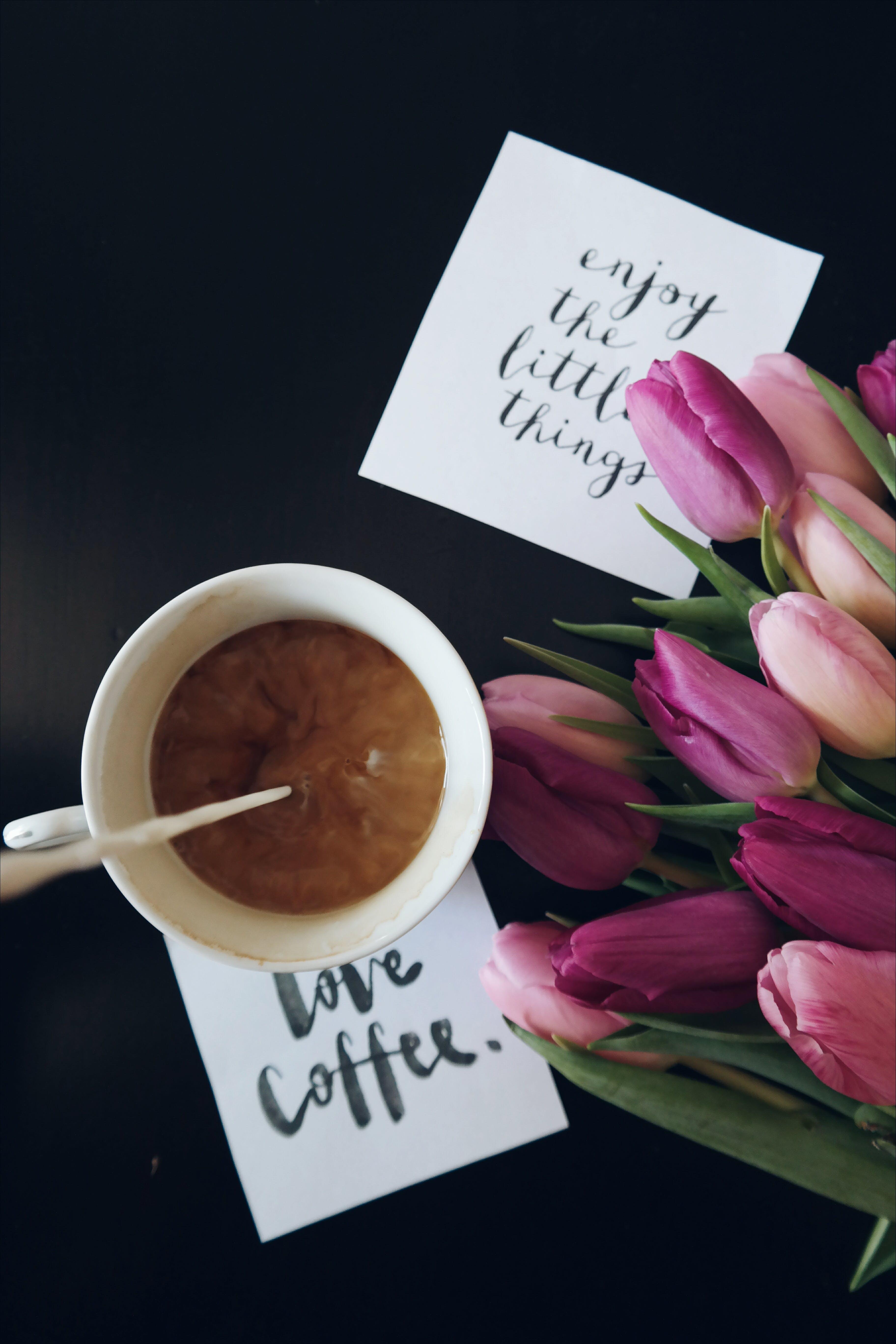 Flat Lay Photography of Coffee Mug