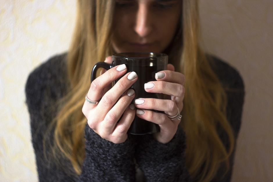 blur, close-up, cup