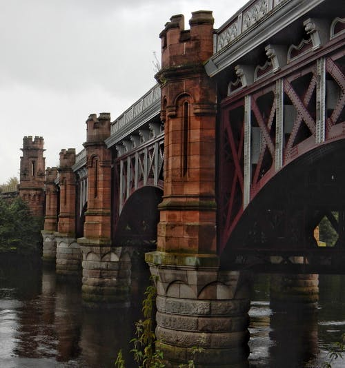 Free stock photo of bridge, metal construction, Metal structure, pillars
