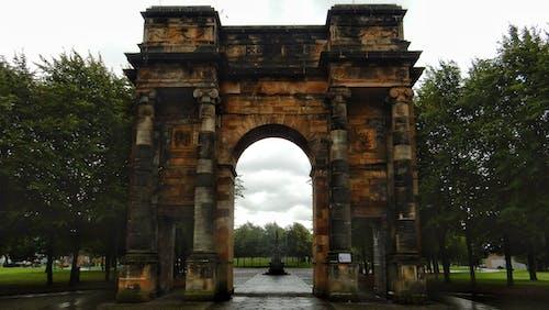 Foto profissional grátis de arcada, monumento, parque