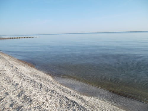 Kostenloses Stock Foto zu blau, lake michigan, strand