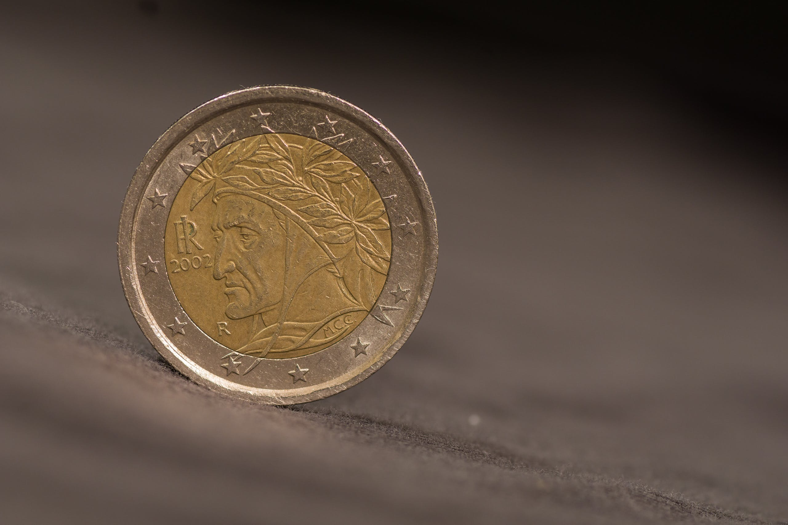 Free stock photo of coin, euro