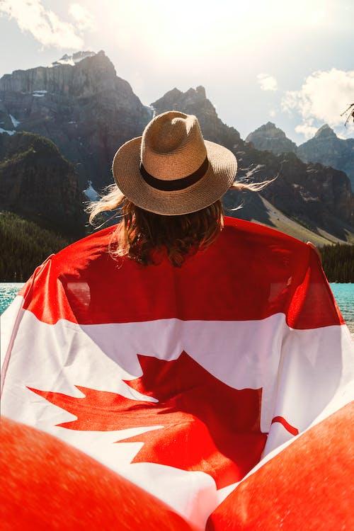 Gratis stockfoto met achteraanzicht, Alberta, avontuur, berg