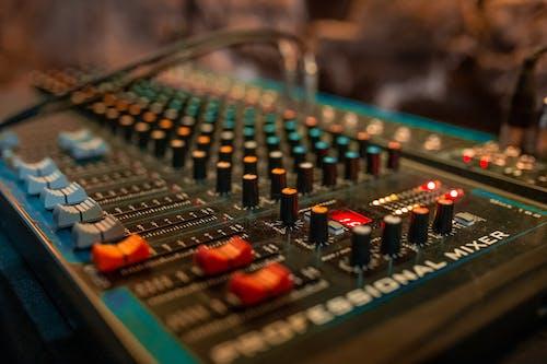 Free stock photo of disc jockey, mixing panel, musical, sound mixer