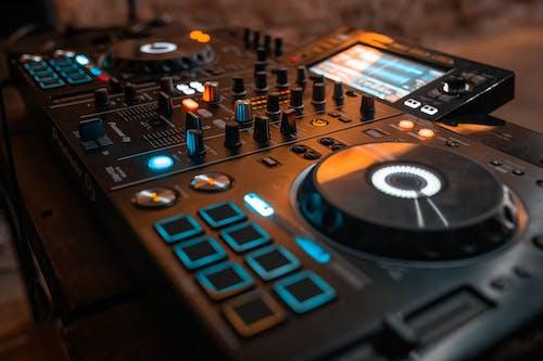 Free stock photo of disc jockey, mixing panel, musical, speakers