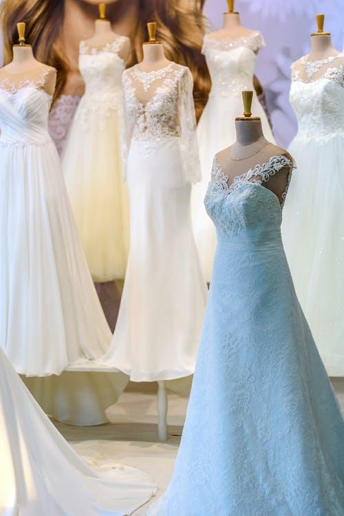 Several Sleeveless Dresses