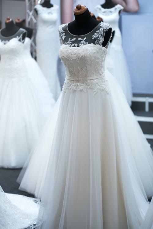 біла сукня, білий, весільна сукня