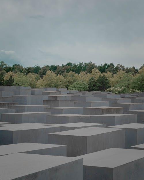 Gray Concrete Box Form