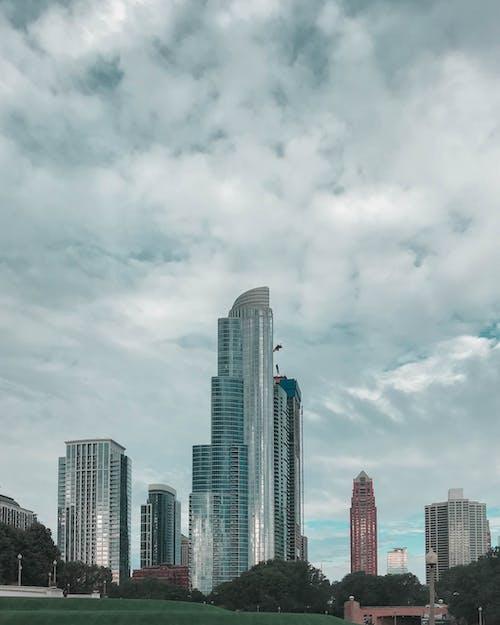 거리 사진, 건물, 도시, 시카고의 무료 스톡 사진
