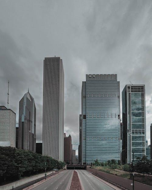 Ảnh lưu trữ miễn phí về các tòa nhà, cảnh quan thành phố, chicago, đường