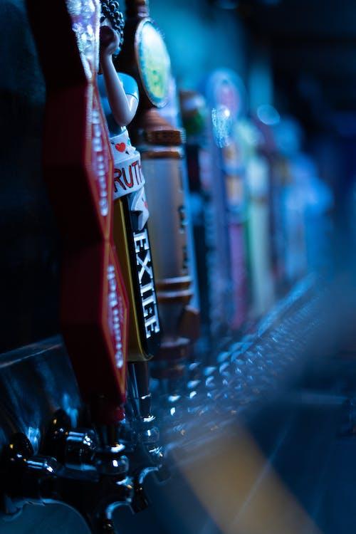 咖啡店, 啤酒, 條, 水龍頭 的 免费素材照片