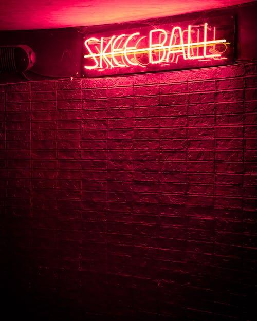 skee ball, 商場, 地獄, 發亮 的 免费素材照片
