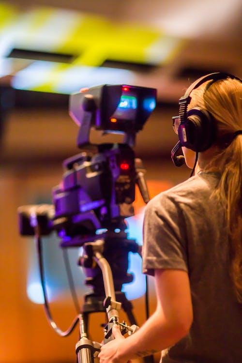 คลังภาพถ่ายฟรี ของ กระจายเสียง, กล้อง, กล้องวิดีโอ, การกระจายเสียง