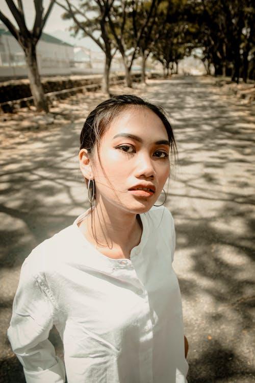 Gratis lagerfoto af afslappet, ansigt, ansigtsudtryk, asiatisk kvinde