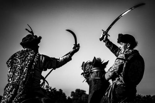 Free stock photo of battle, cavalry, knights, sword