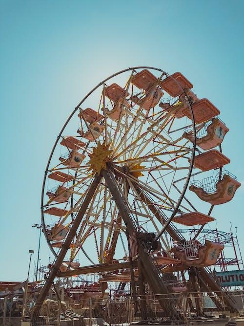 Low Angle Photo of Ferris Wheel