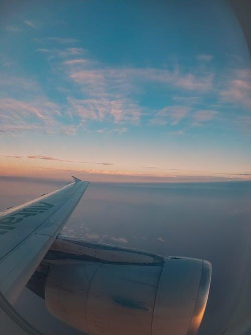 交通系統, 天空, 平面, 旅行 的 免费素材照片