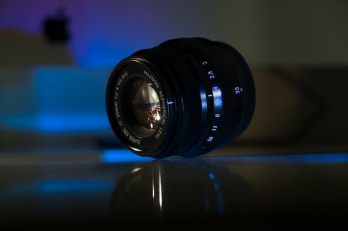 Shallow Focus Photo of Black Dslr Camera Lens