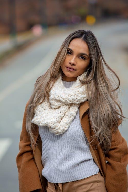 Fotos de stock gratuitas de bonita, bufanda, frío, invierno