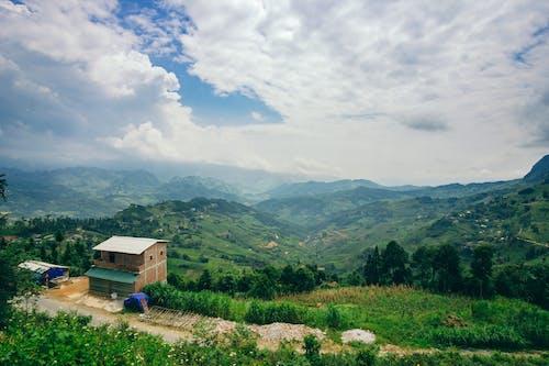 hagiang, 山, 房子, 旅行 的 免費圖庫相片