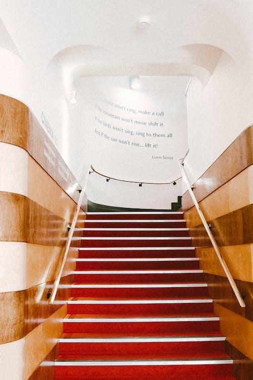 室內, 建築, 樓梯, 視角 的 免費圖庫相片