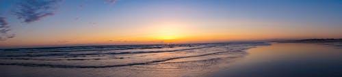 Free stock photo of beach sand, Beautiful sunset, cloud, cloudy
