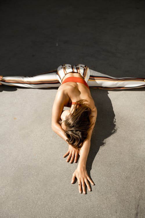 Woman Doing Splits