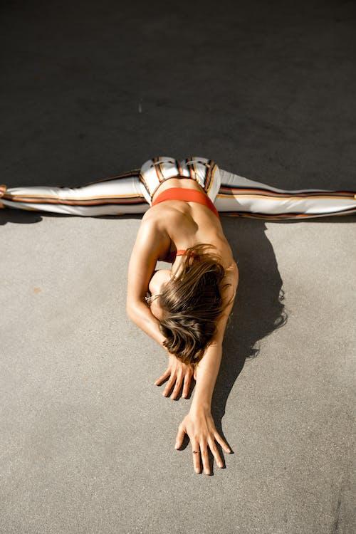 Woman Doing Splits