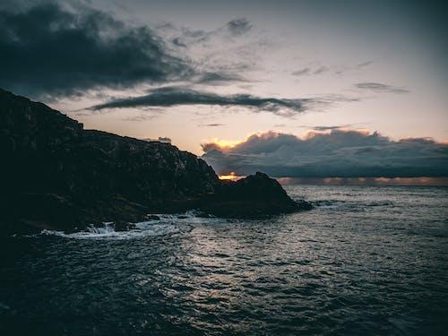 Δωρεάν στοκ φωτογραφιών με Ανατολή ηλίου, αυγή, δύση του ηλίου, θάλασσα