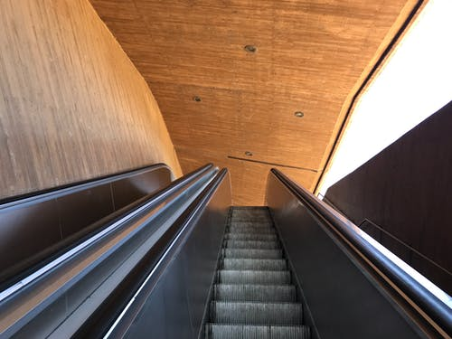 Free stock photo of escalator