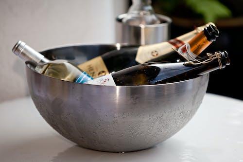 Fotobanka sbezplatnými fotkami na tému alkohol, alkoholický nápoj, detailný záber, fľaša vína