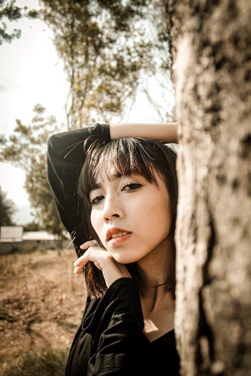 Kostenloses Stock Foto zu asiatische frau, asiatische person, attraktiv, augen