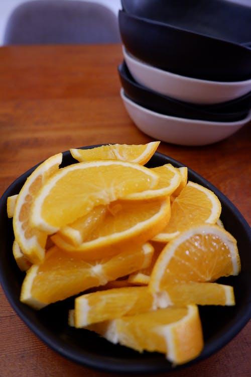 Ingyenes stockfotó citrusfélék, gyümölcstál, narancsok, reggeli témában