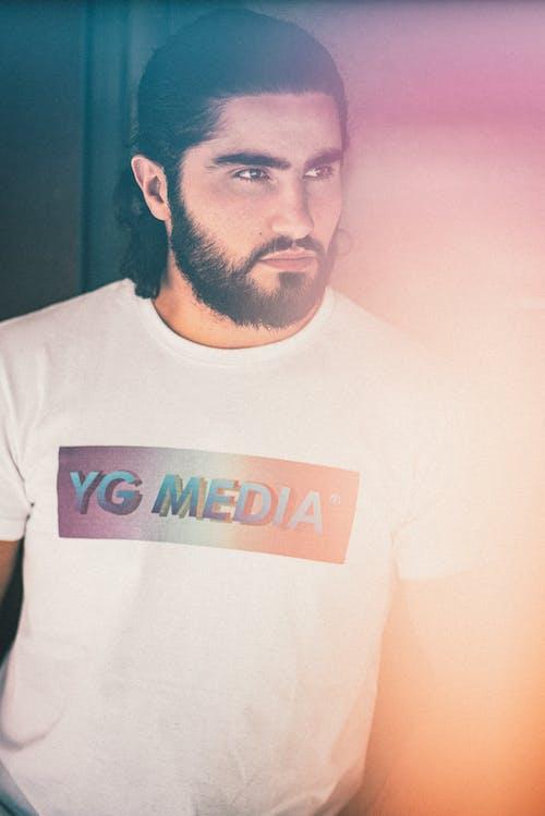 Free stock photo of #models, 20-25 years old man, beard, bearded man