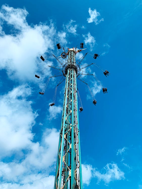 attractions, rides, swing