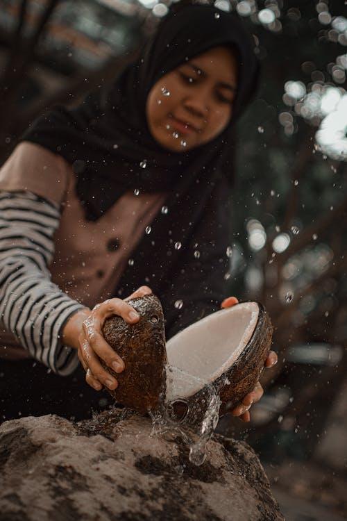 Fotos de stock gratuitas de agua de coco, coco, descanso, jugo
