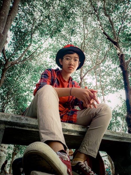 Imagine de stoc gratuită din adolescent, afară, agrement, arbore
