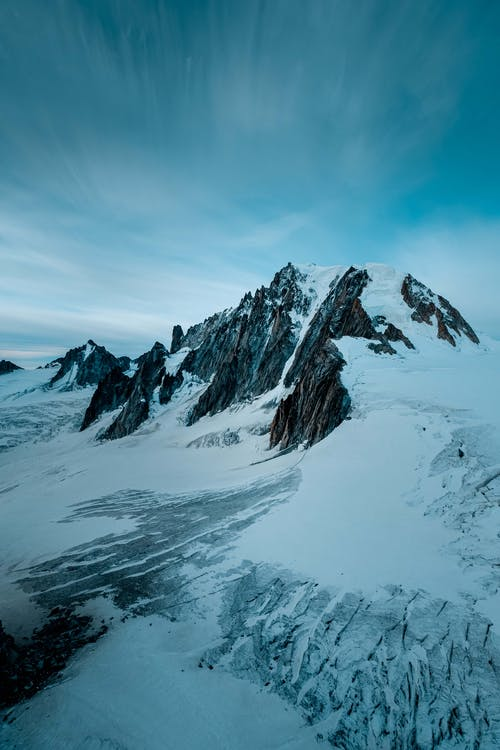 Gratis lagerfoto af bjerg, bjergtinde, gletsjer, høj