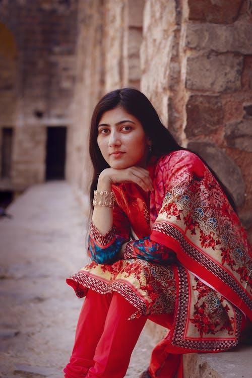 アジア人, インドの女の子, インドの肖像, 美少女の無料の写真素材