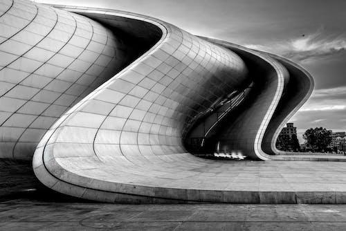 Fotobanka sbezplatnými fotkami na tému architektúra, azerbajdžan, baku, budova