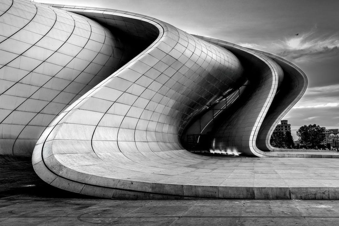 Foto Monocromática De Edifício