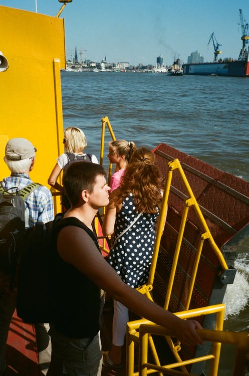 People On A Ship
