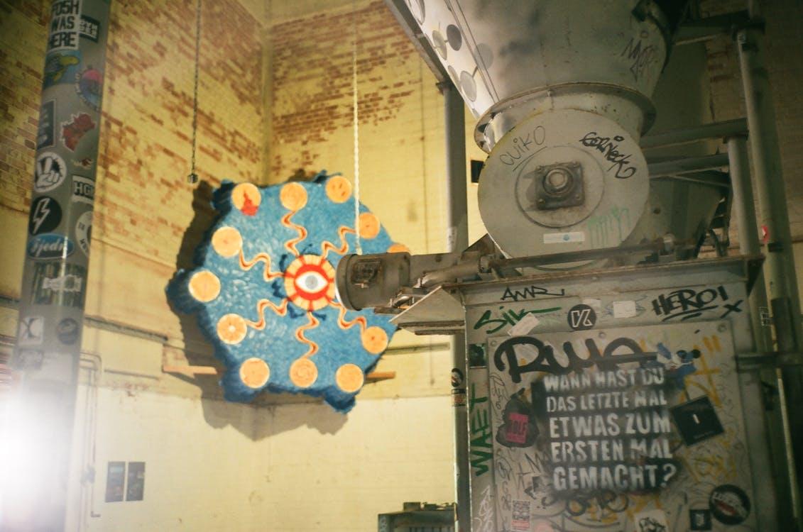graffiti, kevyt, kirkas