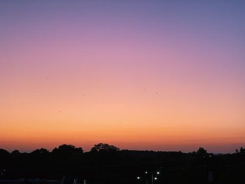 Бесплатное стоковое фото с закат, картина, изображающая небо, красивый закат, красивый пейзаж
