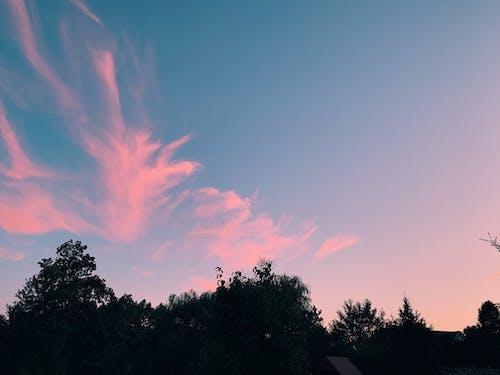 Бесплатное стоковое фото с голубой, закат, красивый, красивый закат