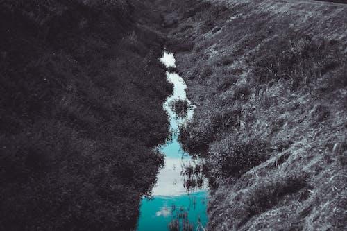 Imagine de stoc gratuită din apă albastră, apă curgătoare, cer, magie
