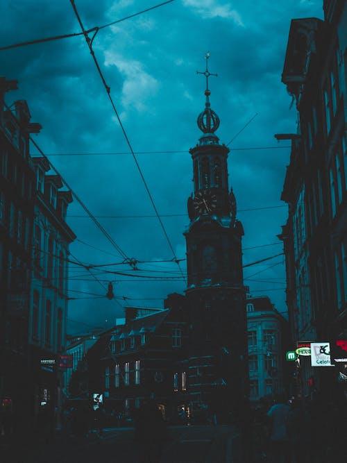 Fotos de stock gratuitas de ambiente, calle, cian, ciudad