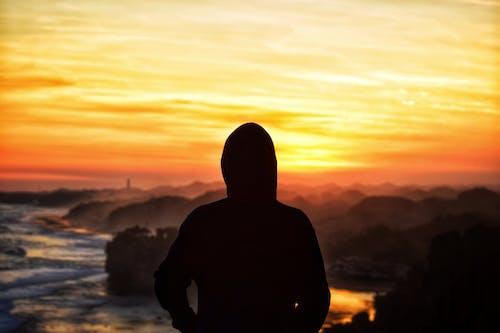 Gratis lagerfoto af asiatiske mennesker, smuk solnedgang, solnedgang, solnedgang strand