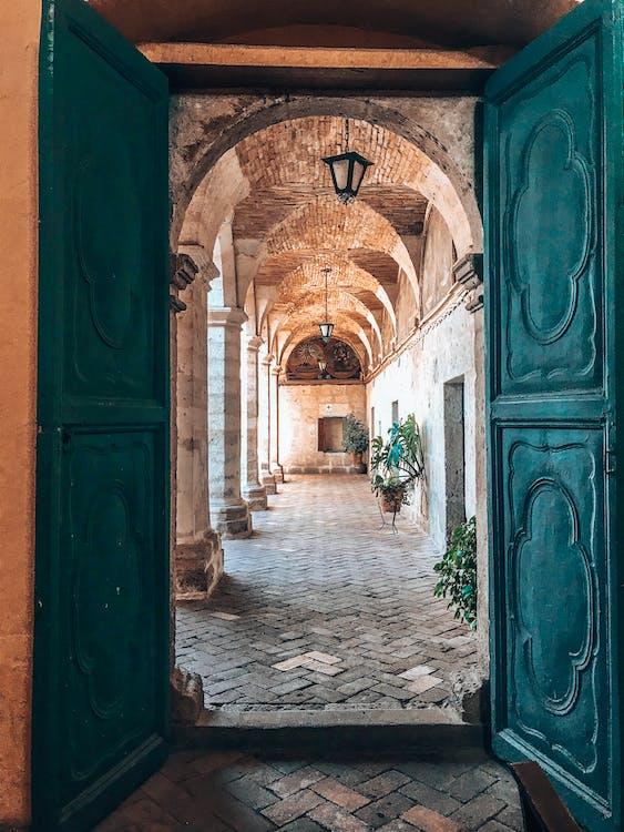 Photo Of Blue Doorway