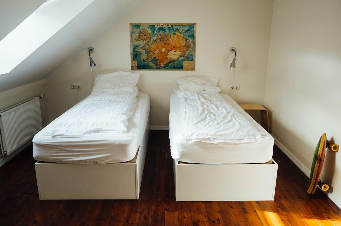 Free stock photo of bedroom, hostel, hotel